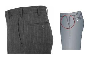 オーダーメイドパンツ,スラックス,斜めポケット,イメージ
