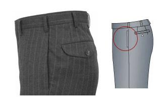 オーダーメイドパンツ,スラックス,縦ポケット,イメージ