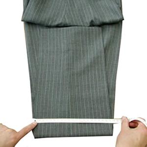 パンツ/スラックス膝幅採寸イメージ